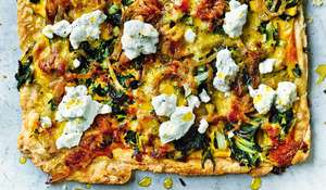 Italian Short-crust Pastry Tart with Spinach and Ricotta Recipe