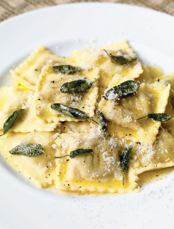 How to make fresh pasta | Anna del Conte Meat Ravioli