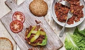 Pulled Jackfruit Burger   Healthy Vegan Recipe