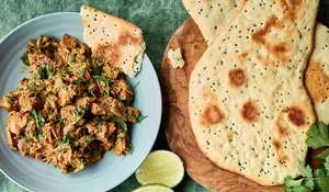 Nadiya Hussain's Jackfruit Curry with No-yeast Naan Recipe | BBC Time to Eat