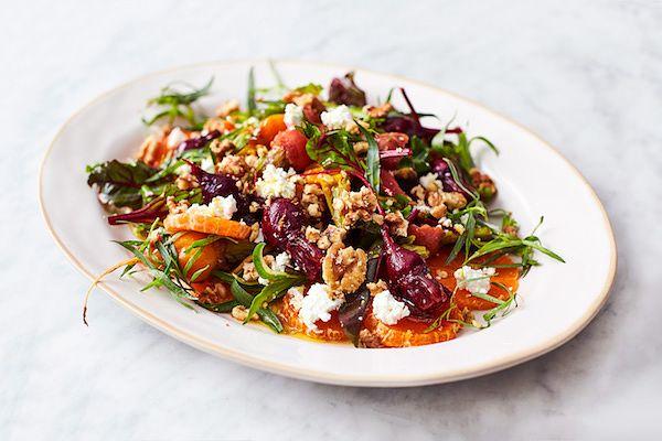 jamie oliver 5 ingredients amazing dressed beets clementines tarragon