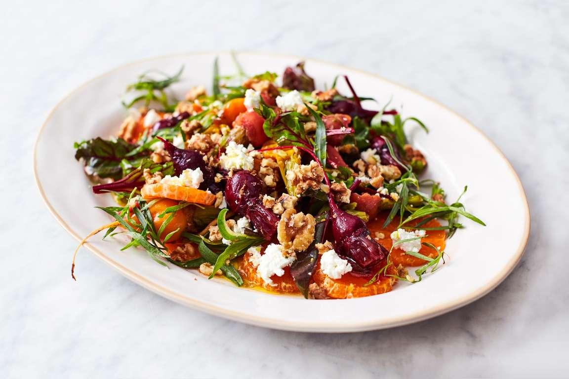 Jamie Oliver's 5-ingredient Amazing Dressed Beets