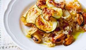 Jamie Oliver's Baked Tiella Rice Recipe | Jamie Cooks Italy