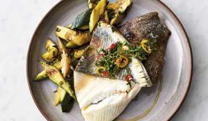 Jamie Oliver's 5-Ingredient Crispy Skin Lemon Sole Recipe