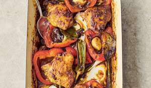 Jamie Oliver Chicken Jalfrezi Traybake Recipe | Channel 4 Family Favourites