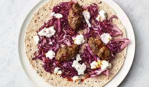 Jamie Oliver's 5 Ingredient Lamb Kofta Flatbreads Recipe   Quick & Easy Food C4
