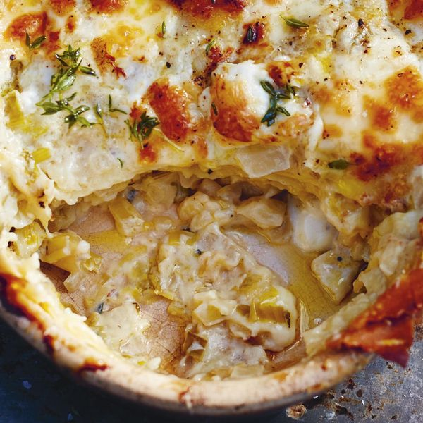 Jamie Oliver S Lasagne Slow Cooked Fennel Sweet Leeks And Cheeses