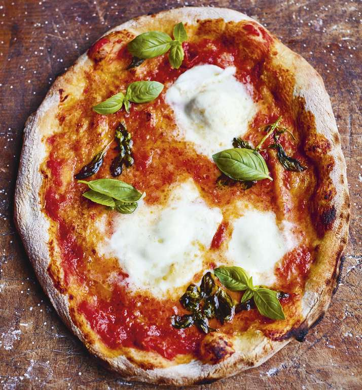 Jamie Oliver's Neapolitan Pizza Base and Toppings