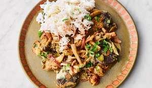 Jamie Oliver's Mushroom Stroganoff Recipe