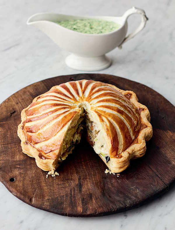 best jamie oliver christmas recipes pithivier pie veg cookbook