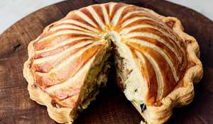 Jamie Oliver's Vegetarian Pithivier Pie | Christmas Recipe