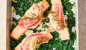 Jamie Oliver Prawn-Stuffed Salmon | Channel 4 Keep Cooking Family Favourites