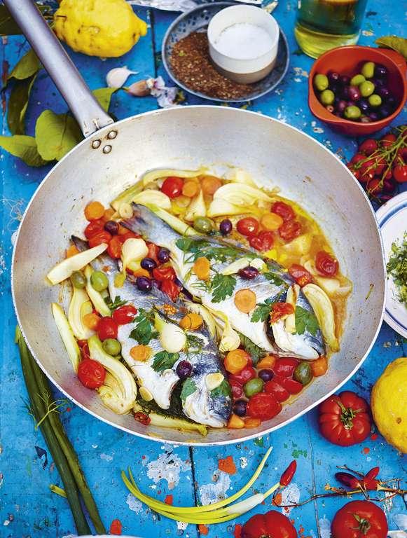 Jamie Oliver's Fish in Crazy Water (Acqua Pazza)