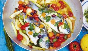 Jamie Oliver's Fish in Crazy Water (Acqua Pazza) Recipe | Jamie Cooks Italy