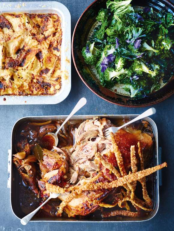 Jamie Oliver's Overnight Roasted Pork Shoulder