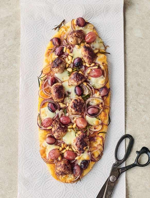 Jamie Oliver's Speedy Sausage Pizza
