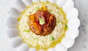 Jamie Oliver's Roasted Tomato Risotto Recipe