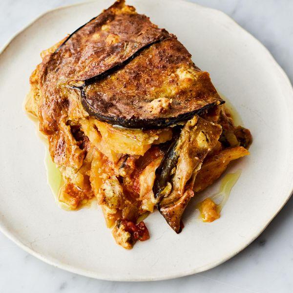 Jamie Oliver Vegetarian Moussaka Veg Cookbook 2019