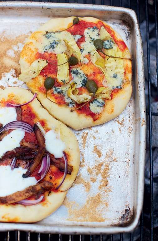 Naya's Pizza Dough & Tomato Sauce