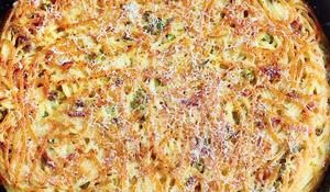 Pasta Frittata Lots of Ways
