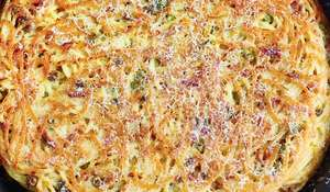 Pasta Frittata Lots of Ways