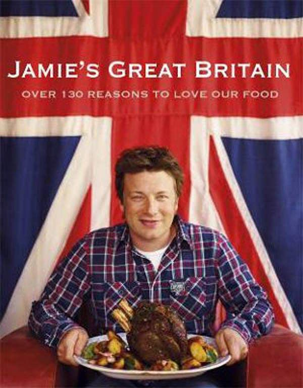 Best British Cookbooks - Jamie's Great Britain