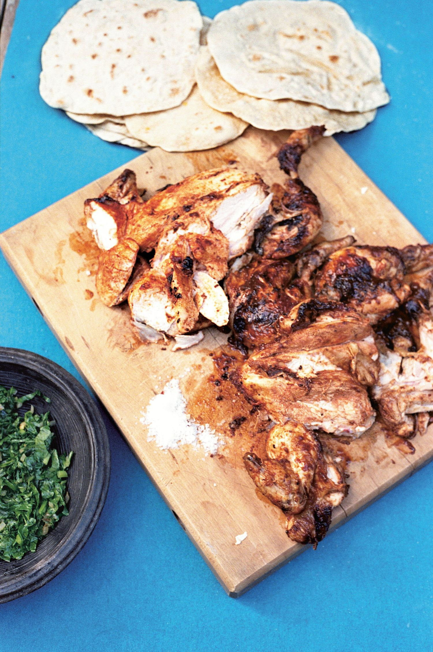 Peri-Peri Chicken recipe from African cookbook The Groundnut