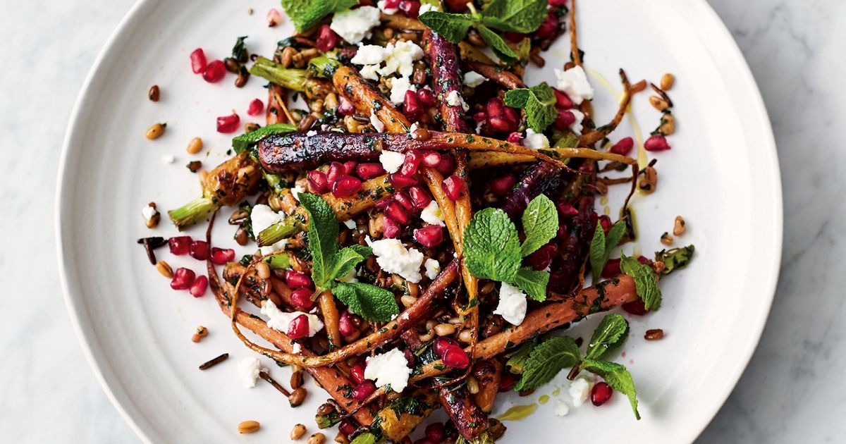 Traditional Carrot Cake Recipe Jamie Oliver: Jamie Oliver's Carrot And Grain Salad