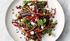 Jamie Oliver's Carrot and Grain Salad