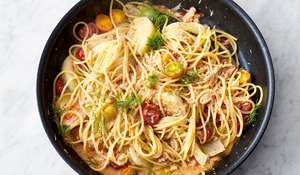Jamie Oliver's Crab and Fennel Spaghetti