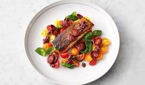 Jamie Oliver's Smoky Chorizo Salmon | Quick & Easy Food Channel 4