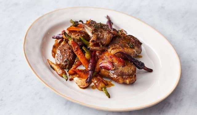 lamb forequarter chops recipe jamie oliver Sticky Lamb Chops