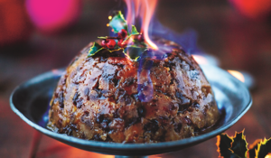 Jamie Oliver's Christmas Pudding from his Christmas Cookbook