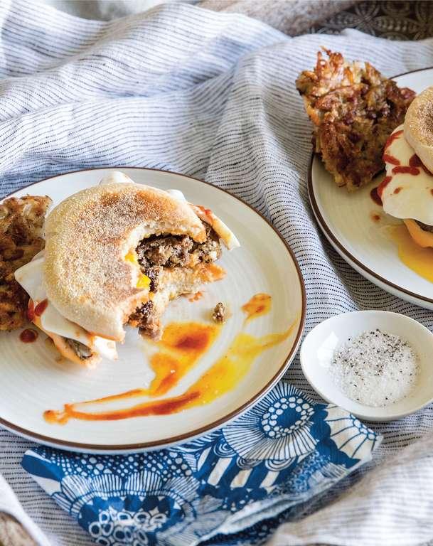 John's Breakfast Sandwiches