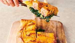 Jamie Oliver Easy Salmon en Croute | Channel 4 Keep Cooking Family Favourites