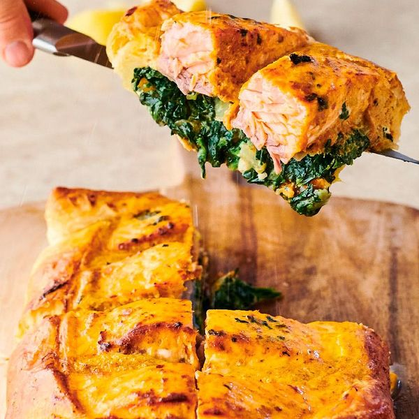 Jamie Oliver Easy Salmon En Croute Channel 4 Keep Cooking Family Favourites