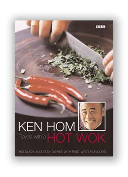 Cover of Ken Hom Travels With A Hot Wok