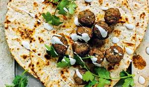 Lamb Koftas in Yogurt with Cinnamon and Chilli