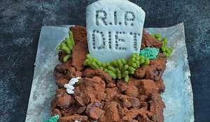 Rocky Road Halloween Grave