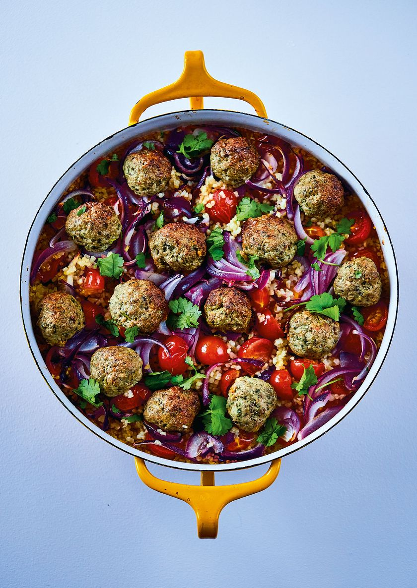 Middle Eastern Lamb Meatballs | The Roasting Tin Around the World
