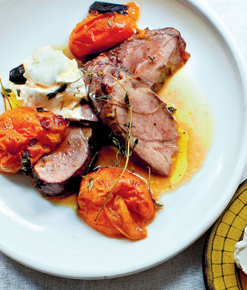 best seasonal summer recipes chargrilled lamb and apricot ducksoup cookbook clare lattin