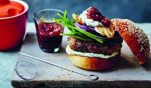 Harry Eastwood's Ultimate Lamb Burger