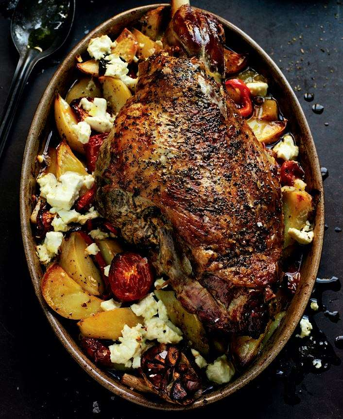 Rick steins lamb kleftiko recipe slow cooked sunday roast lamb lamb kleftiko forumfinder Image collections