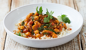Lamb & Chickpea Curry from Jamie Oliver's Food Revolution Collection