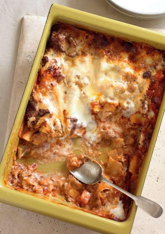 Slow-cooked Lamb Shoulder Lasagna