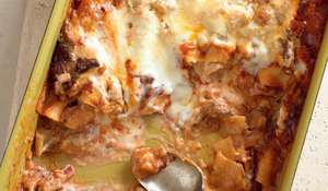 Slow-cooked Lamb Shoulder Lasagna