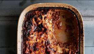 Lasagne with Sausage Meatballs