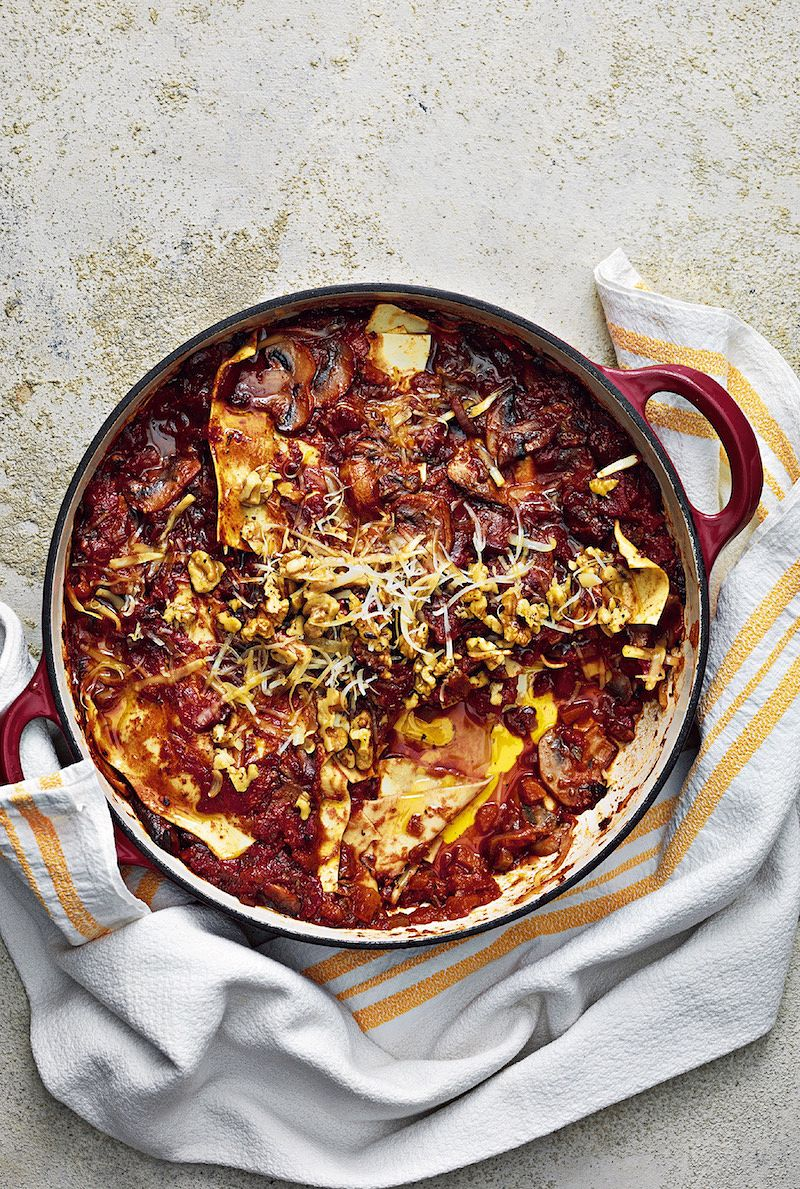 best recipes of 2020 Lazy LasagnefromOne Pot Vegan by Roxy Pope & Ben Pook