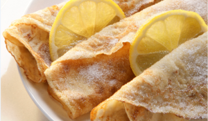 Lemon and Sugar Crêpes