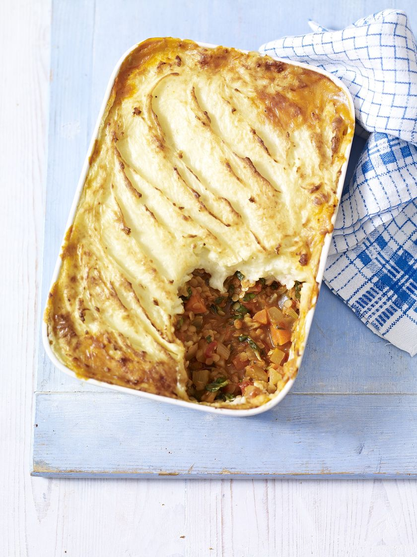 Mary Berry Comfort Food Vegetable and Lentil Cottage Pie